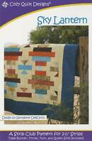 Sky Lantern Quilt Pattern - Cozy Quilt Designs