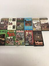 lot of 11 Vhs hunting videos Deer Hunter Tree Lounge Knight Hale Lot 5