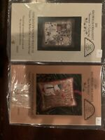 Homespun Elegance Cross Stitch Ornament Patterns With Charms