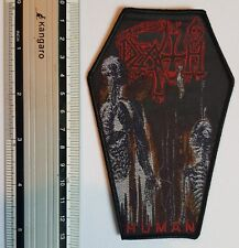 Death - Human Coffin - Limited edition patch -WOVEN SEW ON PATCH - free shipping