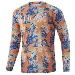 Huk Paradise Pass Pursuit Long Sleeve Shirt H1200332