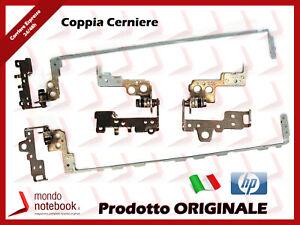 Cerniera Hinge Cardine Sinistra e Destra Left Right L+R per Notebook HP 250 G6