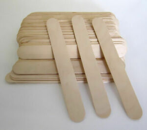 Jumbo Wooden Waxing Sticks / Tongue Depressors Wax-FAST n FREE SHIPPING OZ Stock