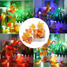 20/30LED Fall Maple Leaves Fairy String Light Garland Xmas Halloween Party Decor