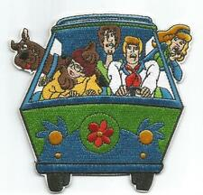 Scooby Doo Mystery Machine & Scooby Gang Character - Sew-on / Iron-on Patch