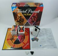Trivial Pursuit Team Edition Board Game Fast Play Excellent Condition Complete