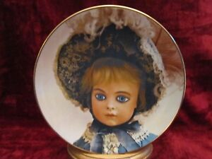 COLLECTOR PLATE FOR YOUR DOLL HOUSE FRENCH DESIGN