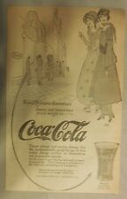"Coca-Cola ad: ""29 Years of Beauty and Brains"" 1915 ~ 7 x 10 inches"