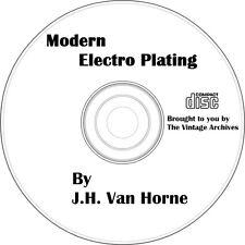 Modern Electro Plating Vintage Book on CD