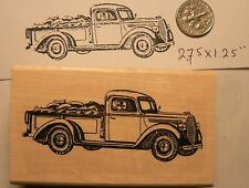Vintage, old, classic truck rubber stamp P51