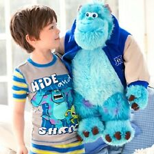 Huge Disney Pixar Monster Inc University Sulley Sully Stuffed Plush Toy Xmas gif