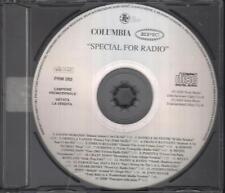 "BATTIATO  VANONI  MORANDI  RUGGERI  SUBSONICA - RARO CD "" SPECIAL FOR RADIO """