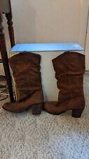 Women's Western cowboy boots size 9