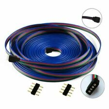 4 Pin Extension Cable Connector Wire Cord for 5050 3528 LED RGB Strip Light 10m