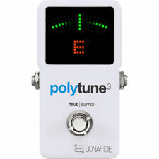 TC Electronic PolyTune 3 - Poly-Chromatic Tuner with Built-in Buffer