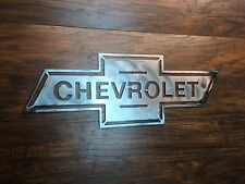 Chevrolet Bowtie Vintage  Metal Wall Art Decor Man Cave hot rod sign custom bug