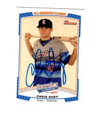 Chris Okey 2012 Perfect Game signed autographed RC card Clemson Cincinnati Reds