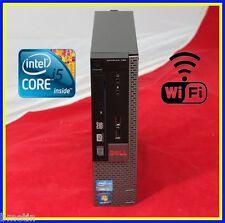 DELL OPTIPLEX 790 MINI INTEL CORE i5 QUAD CORE 2.7GHZ 4GB 500GB DVDRW WIFI WIN 7