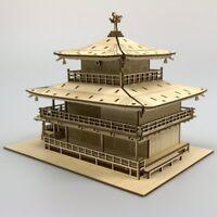 KIGUMI Ki-gu-mi Wooden Art - Kinkakuji Temple