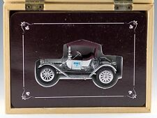 Ertl 1914 Chevrolet Hershey's Chocolate Mint In Wood Hinged Box