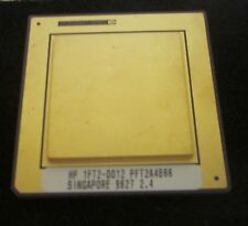 VINTAGE HP RISC PROCESSOR  HP 1FT2-0012 HEAVEY GOLD PLATING RARE