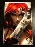 Red Sonja Age of Chaos #2 Kunkka Exclusive Virgin Cover NM+