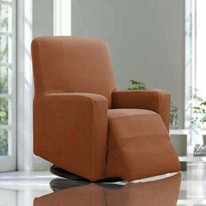 Stretch Recliner Cover Thick Soft Jacquard Recliner Chair Slip Cover Washable