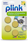 Plink-9024 Summit Brands Washer and Dishwasher Freshener Cleaner, 4 Tabs, 4 photo