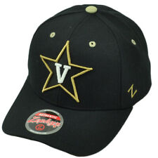 add34eda77 NCAA Zephyr Vanderbilt Commodores Adjustable Hat Black Cap Curved Bill  Sports