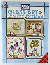 Plaid Gallery Glass Glass Art for Framing Book Variety 29 Designs #9486