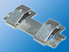 4x Doppelkontakte für Batteriefach | Stahl | OKW | Batterie-Kontaktfeder