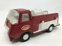 TONKA Vintage Fire Truck Pressed Steel Red & White