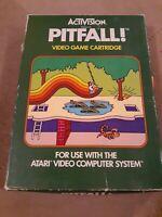 PITFALL by ACTIVISION for ATARI 2600 ▪︎CIB ▪︎FREE SHIPPING ▪︎