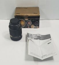 Nikon Nikkor 70-210mm f4 f5.6 AF Autofocus Macro Zoom Lens w/ Box and Manual!!!
