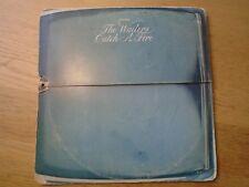 BOB MARLEY CATCH A FIRE VINYL LP ILPS 9241 1973 sunset VG+  zippo sleeve