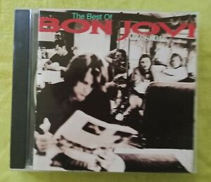 The Best Of BON JOVI - Crossroad CD - Greatest Hits 15 track album 1994 used