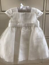 BNWT Sarah Louise Christening Bridesmaid gown 6 months. Ivory. RRP £95.99