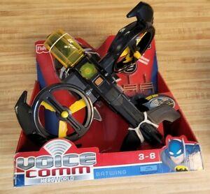 DC Super Friends Voice Comm Batwing copter Interactive Batman Heroworld