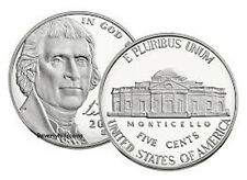 2006 Five Cent Monticello Jefferson Nickel Uncirculated 2 coin set