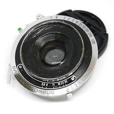 :Schneider Angulon 90mm f6.8 Lens in Synchro Compur Shutter - Debadged