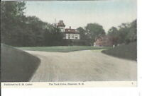 CI-481 NH, Hanover, The Tuck Drive Divided Back Postcard E.M. Carter Publisher