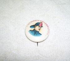 Antique Fireman Pinback Button Early 1900 's Firemen's Celebration