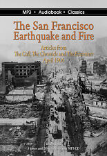 The San Francisco Earthquake and Fire - Unabridged MP3 CD Audiobook in DVD case