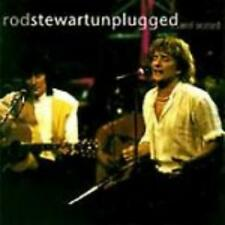 Rod Stewart: Unplugged... And Seated w/ Artwork AUDIO CD music GERMANY PRESSING