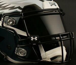 PHILADELPHIA EAGLES NFL UNDER ARMOUR Football Helmet BLACK Eye Shield / Visor