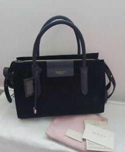 ☆ RADLEY LONDON Arlington Court Medium Zip-Top Multiway Suede Bag
