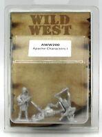 Artizan AWW200 Apache Characters I (Wild West) Indian Warriors Heroes Old NIB