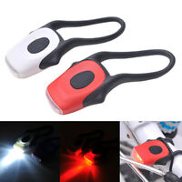 LED Bike Bicycle Cycling Head Front Rear Tail Focus Flashlight Light Flash Lamp