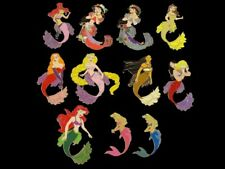 Fantasy Pin - Disney Princesses and Characters as Mermaids Lot of 11 all Le 100