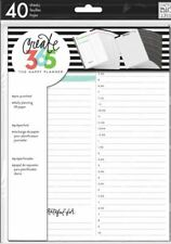 Happy Planner Me Amp My Big Ideas 40 Page Daily Sheets Classic